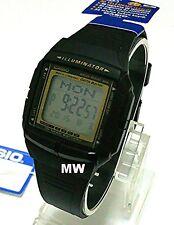 Casio DB-36-9A Databank Digital Memory Data Bank Black Resin Watch DB36 FreeShip