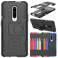 For OnePlus 5 5T 6 7 Pro Shockproof Hybrid Armor Rubber Kickstand Case Cover