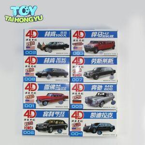 Modèles réduits limousine, échelle 1/87e HO, véhicule en kit, 8 pièces Chevrolet