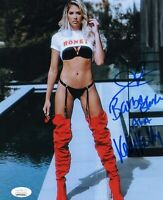"KELLY KELLY ~ BARBIE BLANK Authentic Hand-Signed ""WWE DIVA"" 8x10 Photo JSA COA T"