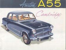 Austin A55 Cambridge 1957-58 Original UK Sales Brochure Pub No 1400/A