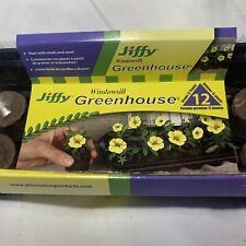 SEED STARTER KIT SEEDLING JIFFY Greenhouse 12 Pack Peat Pellet