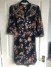 Monsoon Floral Tunic Dress