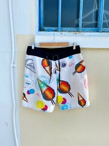 Vintage Quiksilver Shave Ice Hawaii Board Shorts
