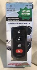 Nissan & Infiniti Remote Keyless Transmitter 03-2014 Remotes Unlimited CPR-8504