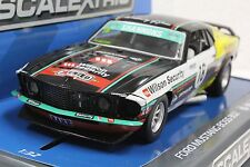 SCALEXTRIC C3728 FORD MUSTANG BOSS 302 1969 NEW 1/32 SLOT CAR * DPR *
