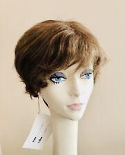 NWT! JACQUELYN Wig HUMAN HAIR Blend COCO 12-8 LIGHT BROWN  Monotop