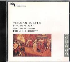 Tielman SUSATO - Dansereye 1551 ; New London Consort, Pickett / 93er DECCA - CD