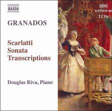 Granados: Scarlatti Sonata Transcriptions, New Music