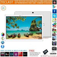 "TECLAST T10 2.6GHz DECA CORE 4GB RAM 64GB 10.1"" S RETINA 7.0 ANDROID TABLET PC"
