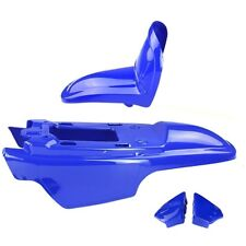 Kit carénage Capot 4 Parties de carénage coloris bleu pour Yamaha PW50 PW 50
