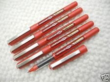 NEW 5pcs Uni-Ball UB-150-0.38mm Ultra Micro roller ball pen RED(Made in Japan