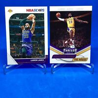 Lot (2) 2018-19 FIRST YEAR Lakers LeBron James Bring Down The House & '19 Hoops