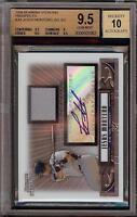 2008 Bowman Sterling Jesus Montero Rookie RC Jersey BGS 9.5 Autograph 10 Auto 14