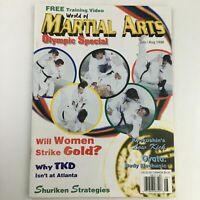 World of Martial Arts Magazine July-August 1996 US Women's Olympic Judo Team