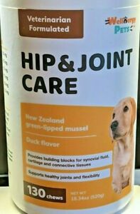 Dog Hip & Joint Care Glucosamine Chondroitin MSM Discomfort Relief 130 CT