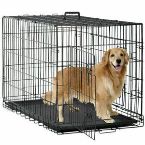 BestPet TY-PC1200-Black 48 inch Pet Crate - Black
