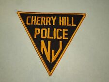 Cherry Hill Police NJ New Jersey Triangle Iron On Shoulder Patch