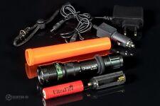 LINTERNA TACTICA POLICIA  5000 Lm CREE LED SWAT  con bateria 8800 mAh 3,7V