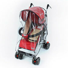 Chic Waterproof Baby Buggy Pushchair Stroller Pram Rain Cover Wind Shield
