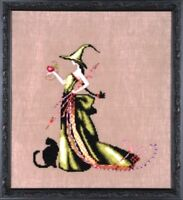 "XSTITCH KIT MATERIALS ""ANA NC207"" Bewitching Pixies by Nora Corbett"