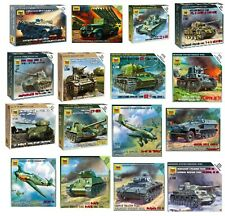 1/100 Scale Zvezda Wargaming Model Kits $5.49 EACH Your Choice Item#6101-6265