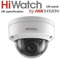Hikvision Hiwatch Ipc-d120 2mp CMOS Network Dome Poe CCTV Camera IR 30m Ip67