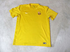 ee2d3fae8 NIKE FC Barcelona Shirt Size Adult Large Yellow Dri Fit Futbol Kit Spain  Mens