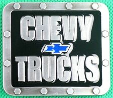 "Belt Buckle ""CHEVY"" Trucks, 3.8cm Wide Belt, DIY, Custom, Metal Casting."