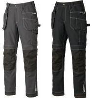 Dickies Eisenhower Extreme Work Trousers Black Grey Knee Pad Pockets Sizes 30-40