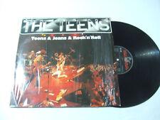 The Teens-Teens & Jeans & Rock 'n' Roll - Disco Vinile 33 Giri LP Album GERMANIA