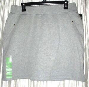 New  *JONES NEW YORK*  Sport, Cotton Gray Tennis/Golf Skort,  Large