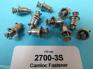 2700-3S Camloc Stud Stainless Turnlock Fastener (10 ea) Aircraft Aviation Race