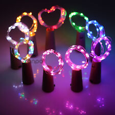 1M 3.28FT LED Cork Shaped Copper Wire String Light Wine Bottle For Xmas RML494
