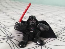 STAR WARS Darth Vader Hasbro Keyring Figure w/ Cape Lightsaber & Adjustable Arms