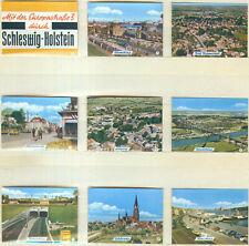 9er Streichholzetikettenserie22a Mit der Europastraße 3 durch Schleswig-Holstein