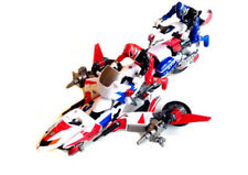 POWER RANGERS SPD Uni-Force Cycle -Omega toy, 3 bikes & 2 figures combines