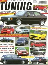 Tuning 1/97 * FIAT 127 * BMW Z3 * Glas 1300 Coupe * AUDI A4 * Mercedes SLK * NSU