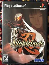 Playstation 2 Nightshade Complete With Manual
