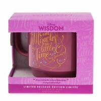 Disney Wisdom Mug Cinderella Fairy Godmother Limited Release Miracles Mice Gus