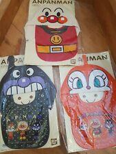 Anpanman Bandai 2009 Set Of 3 Bib And Hoodie Baby