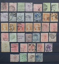 Australia Victoria Collection of Used Stamps
