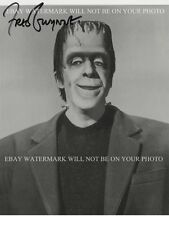 FRED GWYNNE SIGNED AUTOGRAPHED 8x10 RP PHOTO HERMAN MUNSTER