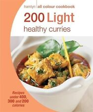 200 LIGHT HEALTHY CURRIES_ HAMLYN ALL COLOUR COOKBOOK _ SHELF WEAR__ FREEPOST UK