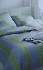 Joop! Mako-Satin Bettwäsche  155x220 cm Plaza Stripe  4052-4 limone Einzelgarn.