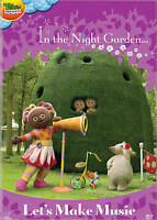 In the Night Garden: Lets Make Music (DVD) DISC ONLY NO CASE NO COVER ART EXCELL