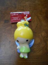 Hallmark Disney Decoupage Tinker Bell Tink Cutie Christmas Tree Ornament
