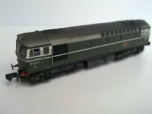DAPOL 2D-001-001 CLASS 33 BR GREEN LOCO UNIQUE DETAILED, WEATHERED, DCC FITTED