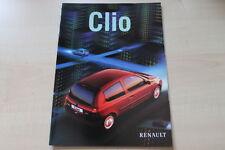 89294) Renault Clio B Prospekt 03/1998