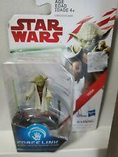 "Hasbro Star Wars  Force Link Yoda 3.75"" Action Figure NEW/NIP"